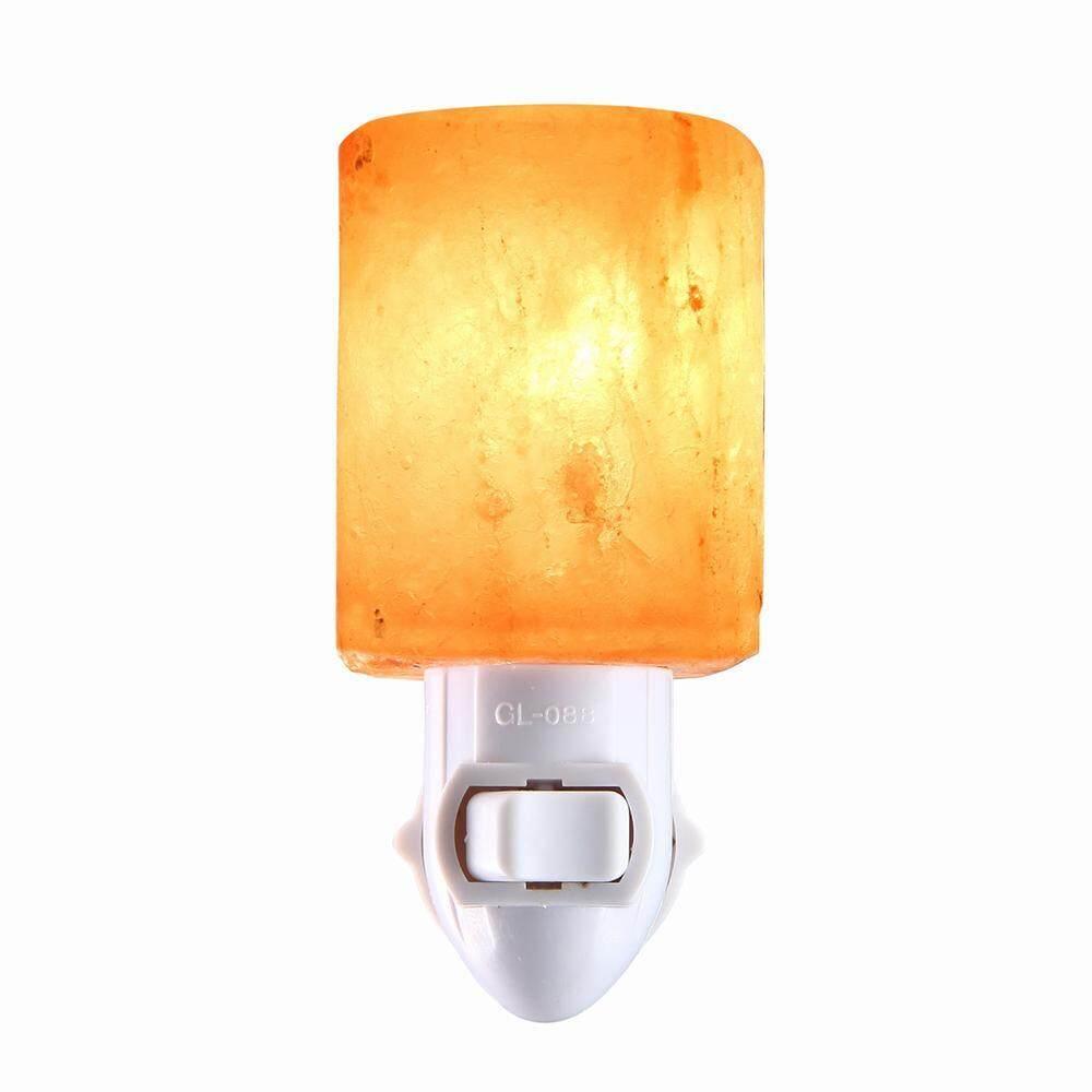 equipn Salt Lamp,Natural Himalayan Salt Night Light,Decoration And Air Purifying - Night Lamp (UK Plug)