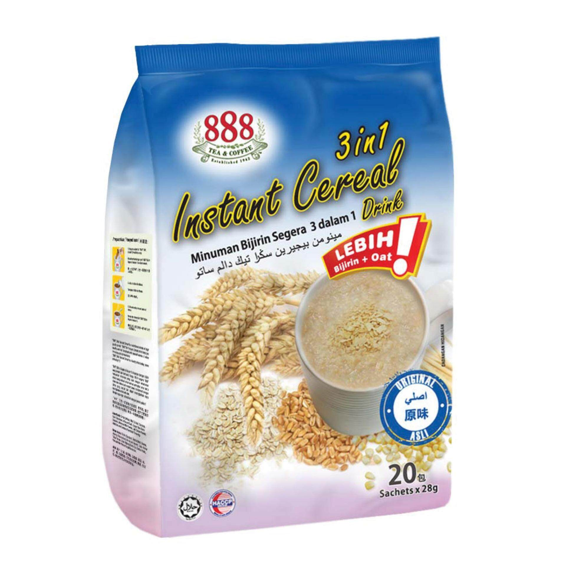 888 3 in 1 Instant Cereal - Original (28g x 20 Sachets)
