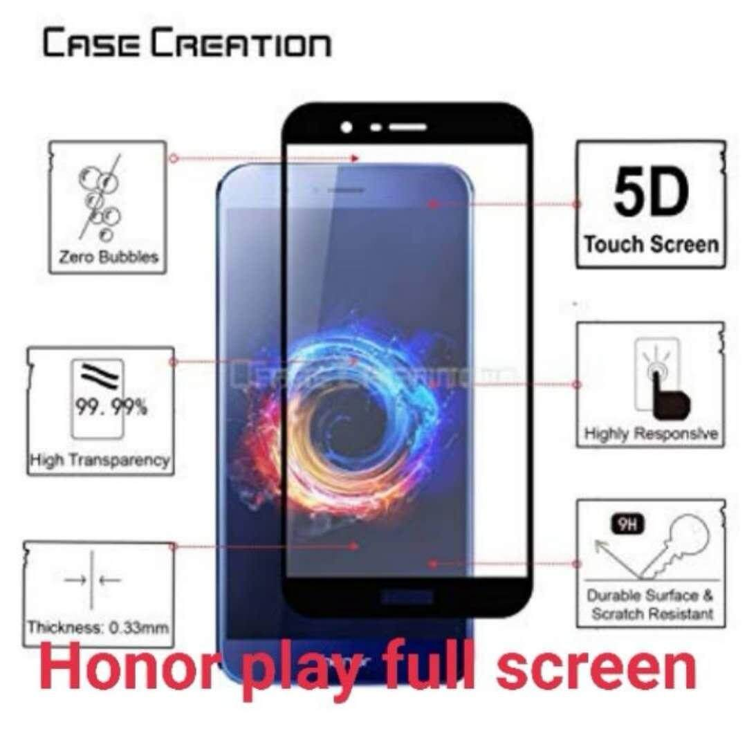 Trend Ultra Thin 9H Hardness Tempered Glass Screen Protector for Huawei Honor Play