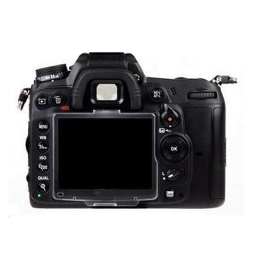 Era Transparan Plastik Keras LCD Pelindung Layar Penutup Monitor BM untuk Nikon