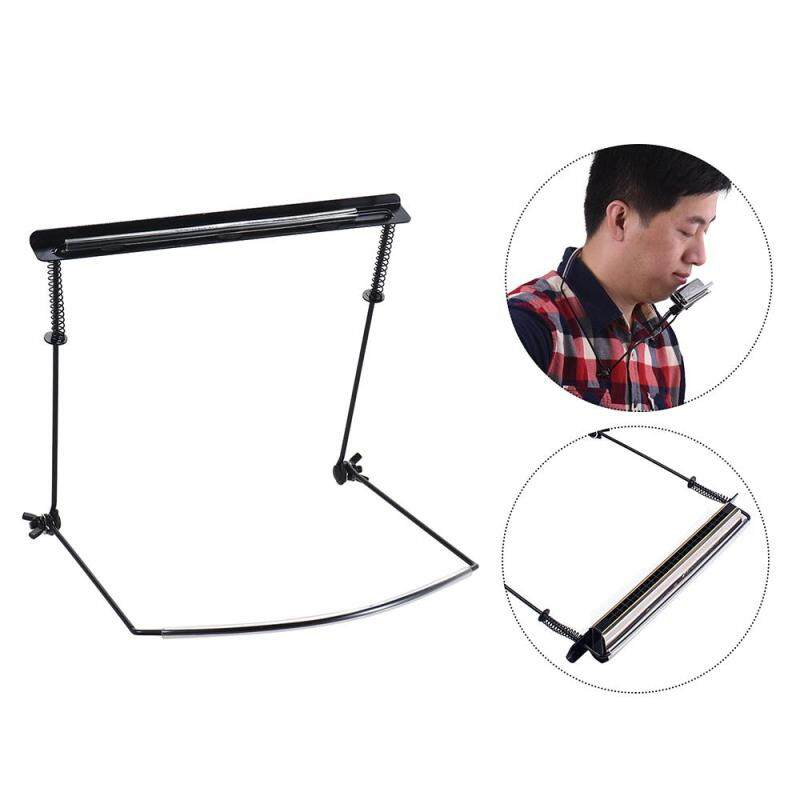 Metal Harmonica Mouth Organ Holder Harmonica Neck Stand Bracket for 24 Hole Harmonicas Hands Free Playing Malaysia