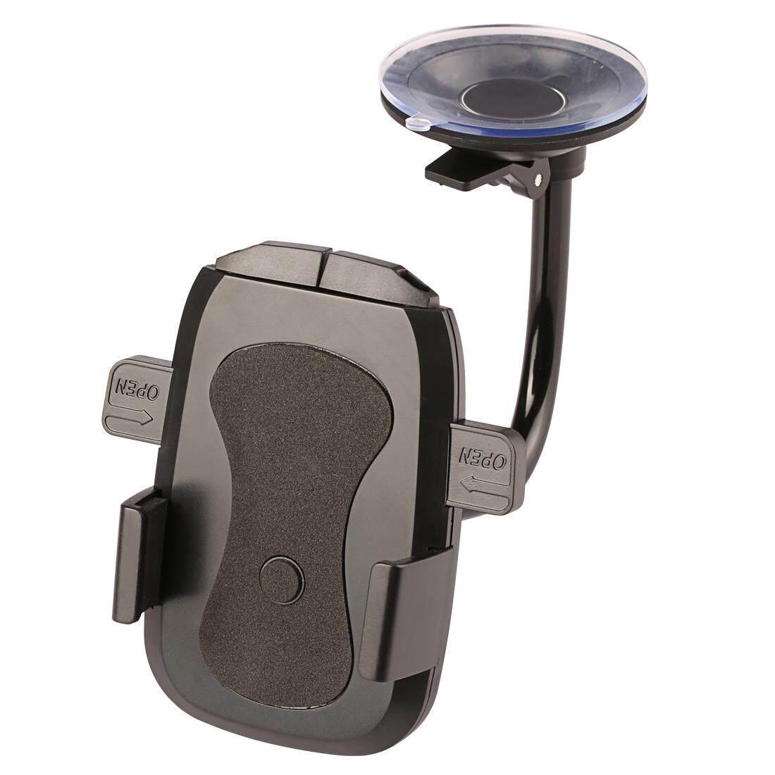Universal Seluler Telepon Penahan Kaca Depan Lembut Tabung Mobil Telepon Penahan Penyangga Dudukan untuk Smartphone GPS