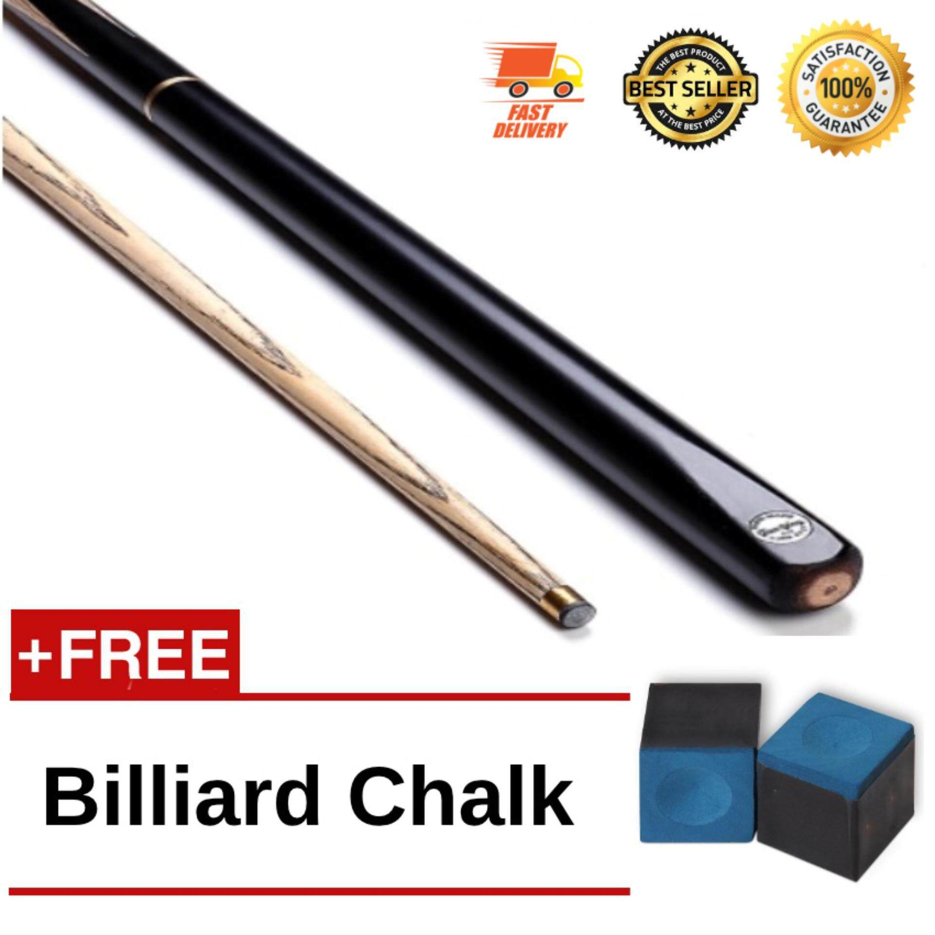 Original Billiards 3/4 Jointed Snooker Cue 145cm 2-parts