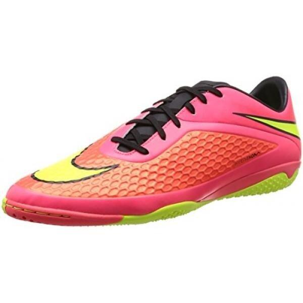 Nike Mens Hypervenom Phelon IC Bright Crimson/Black/Hyper Crimson Sneaker 8 D - Medium - intl