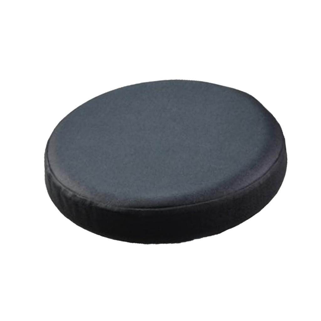 BolehDeals Elastic Bar Stool Covers Round Chair Seat Cover Cushion Slipcover Black - intl