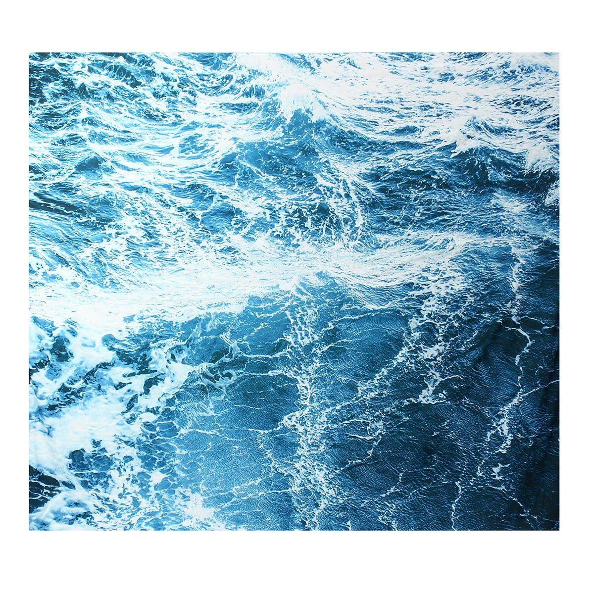 150cm x 130cm Art Wall Tapestry Ocean Wave Tapestry Wall Hanging Wall Tapestry Home Decoration .