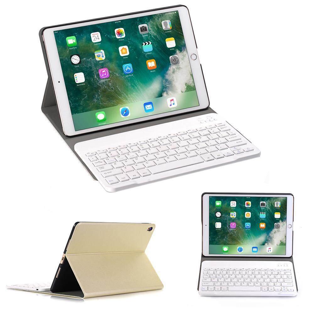 Wedzwe Baru Ultra Ramping Pu Sarung Papan Ketik Kulit Pemegang Apple iPad Air 2/iPad Pro 9.7 Case Cover Folio Wireless Auto Tidur /Bangun, ipad Tidak Termasuk