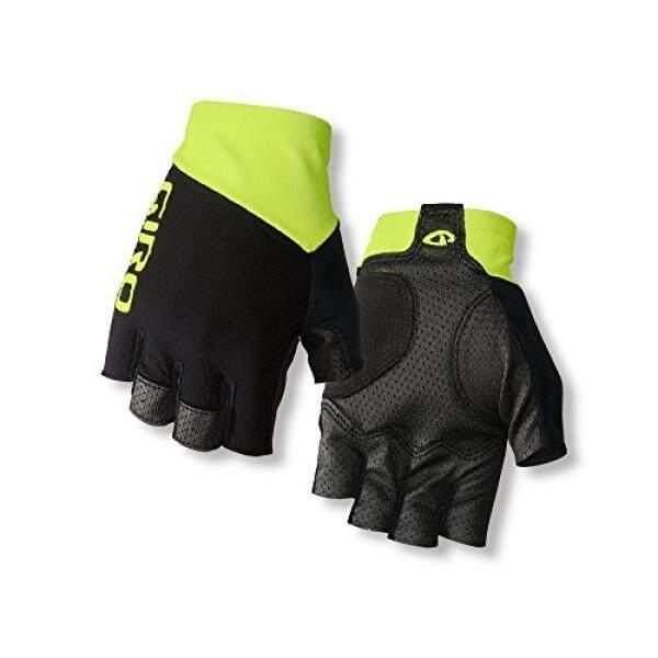 ALMM Giro Zero CS Road Bike Gloves Black/Highlight Yellow L - intl