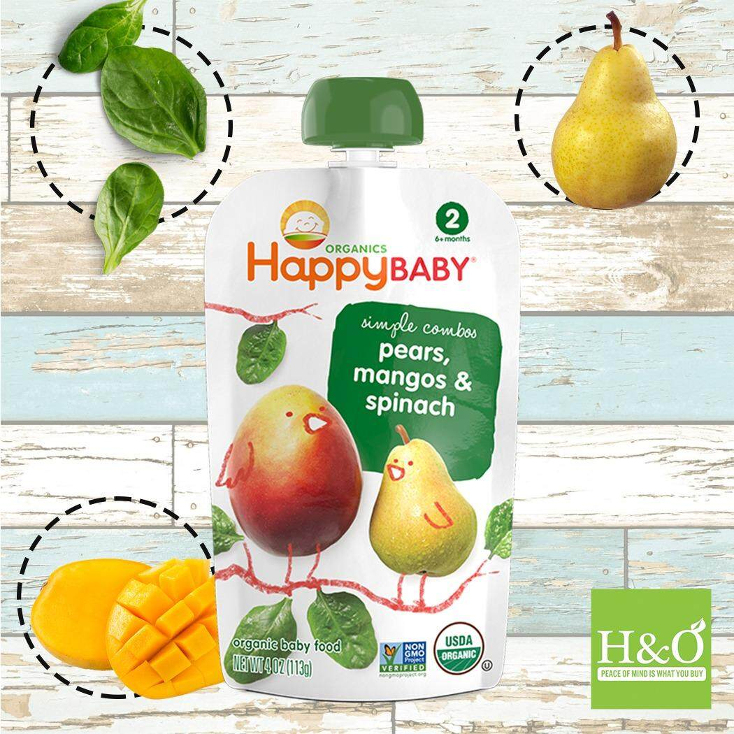 Sell Happybaby Super Smart Cheapest Best Quality My Store Happy Baby Organic Puffs Combo C Strawberry Beet Sweet Potato Myr 9