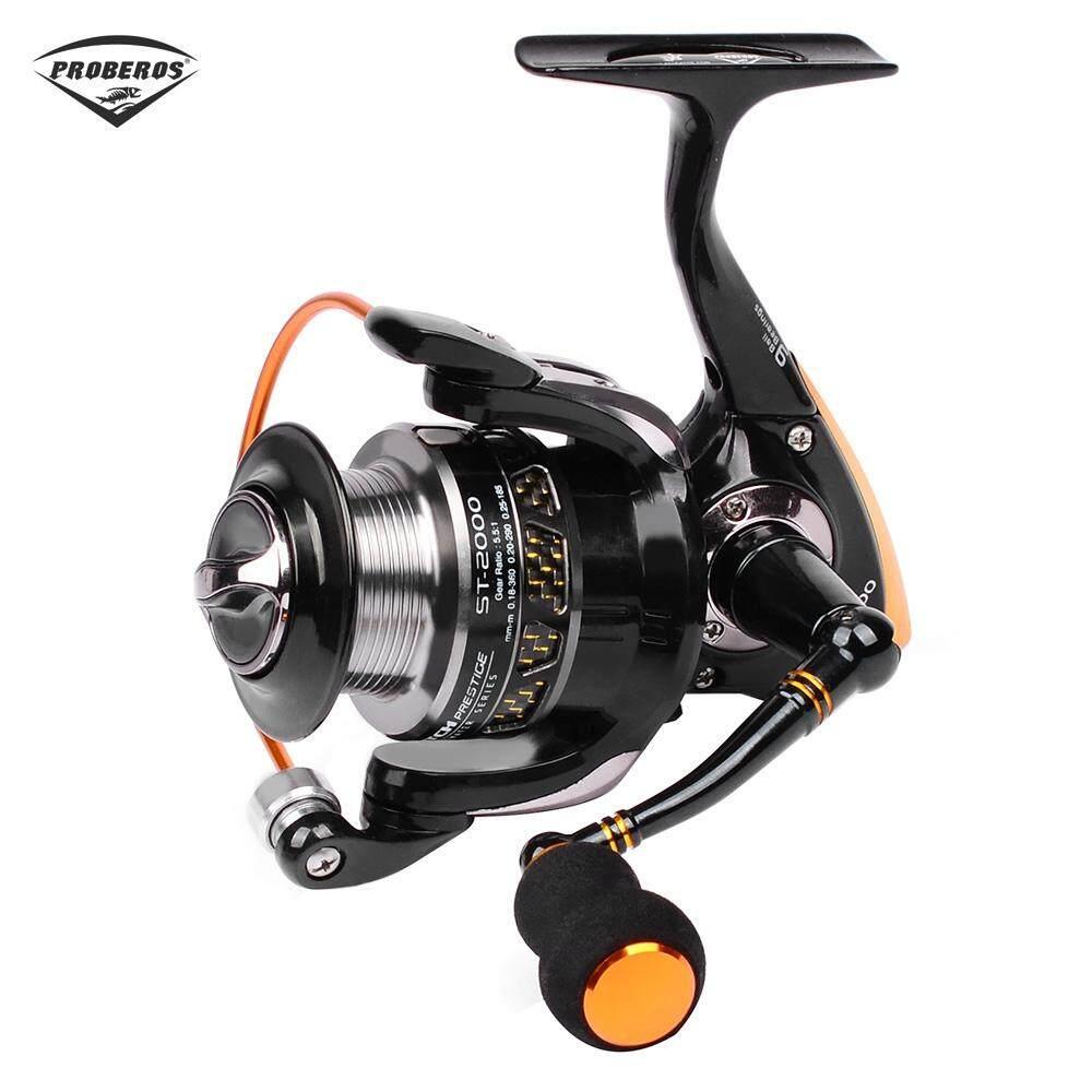 Debao Gulungan Pancing Db6000a Metal Fishing Spin Reel 10 Ter Db3000a Spinning Ball Bearing Golden Pro Beros 551 All Lightweight 9