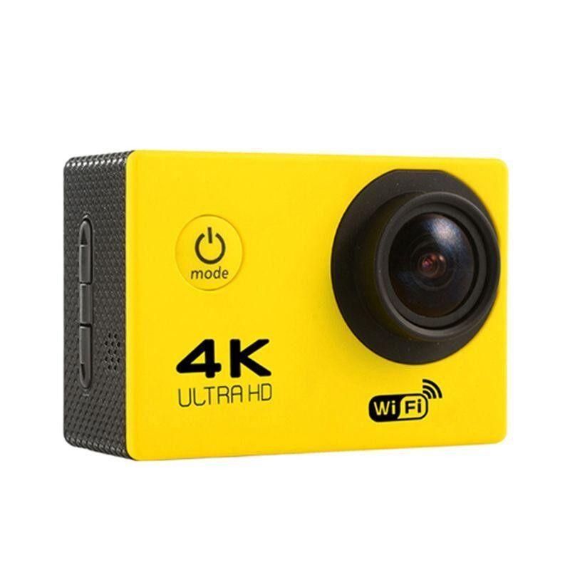 Fuan F60 4K Wifi Action Camera 16MP LCD 170° Lens Degree Wide Angel Sports DV Waterproof EU Plug