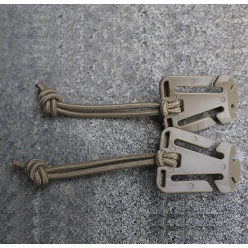 Catree 5 Pcs Gantung Gesper Gantung Tali Klip Anyaman Tali Elastis Ransel Gesper-Internasional
