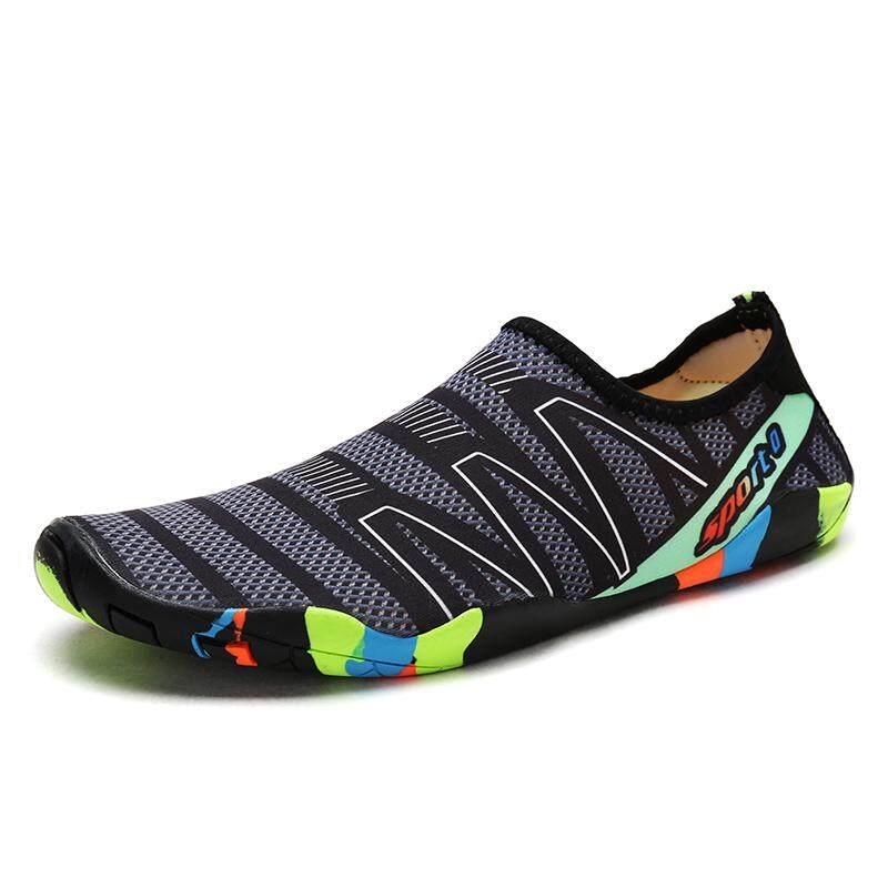 Air Sepatu untuk Wanita Dapat Bersirkulasi Sneakers Sepatu Musim Panas Pantai Sepatu Pecinta Wade Berselancar Sepatu