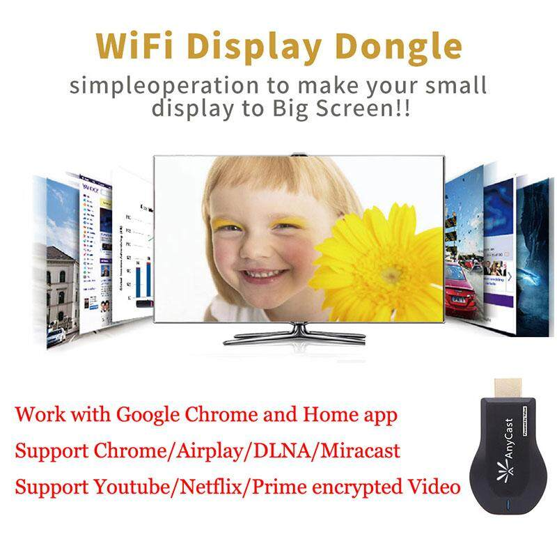 WiFi 1080P Full HD HDMI TV Stick Wireless Chromecast Airplay Dongle