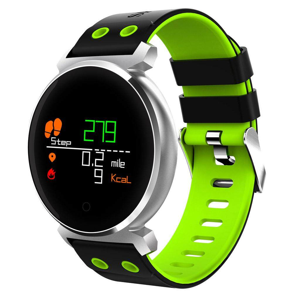 Low Price Cacgo K2 Bluetooth 4 Nordic Nrf52832 Chip Sleep Heart Rate Blood Pressure Blood Oxygen Calories Monitor Remote Camera Smart Watch For Ios Android Phones With Heart Rate Monitor Intl