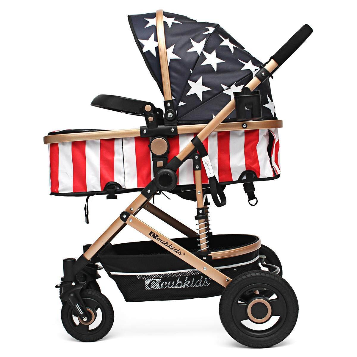 Foldable Pram Pushchair Newborn Baby Stroller Buggy Carriage Infant Travel Car