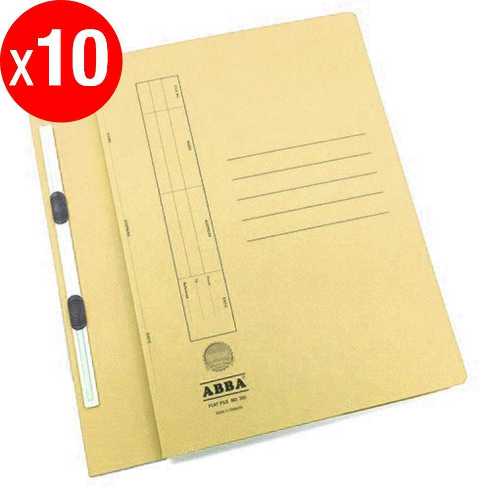 ABBA Manila Flat File NO. 350 - Buff X 10 pcs