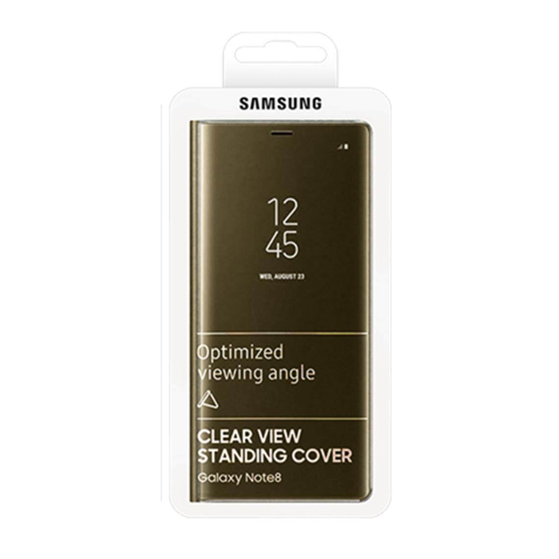 Samsung GALAXY Note 8 Jelas Sarung Berdiri/Baru Asli dari Korea Selatan-Intl