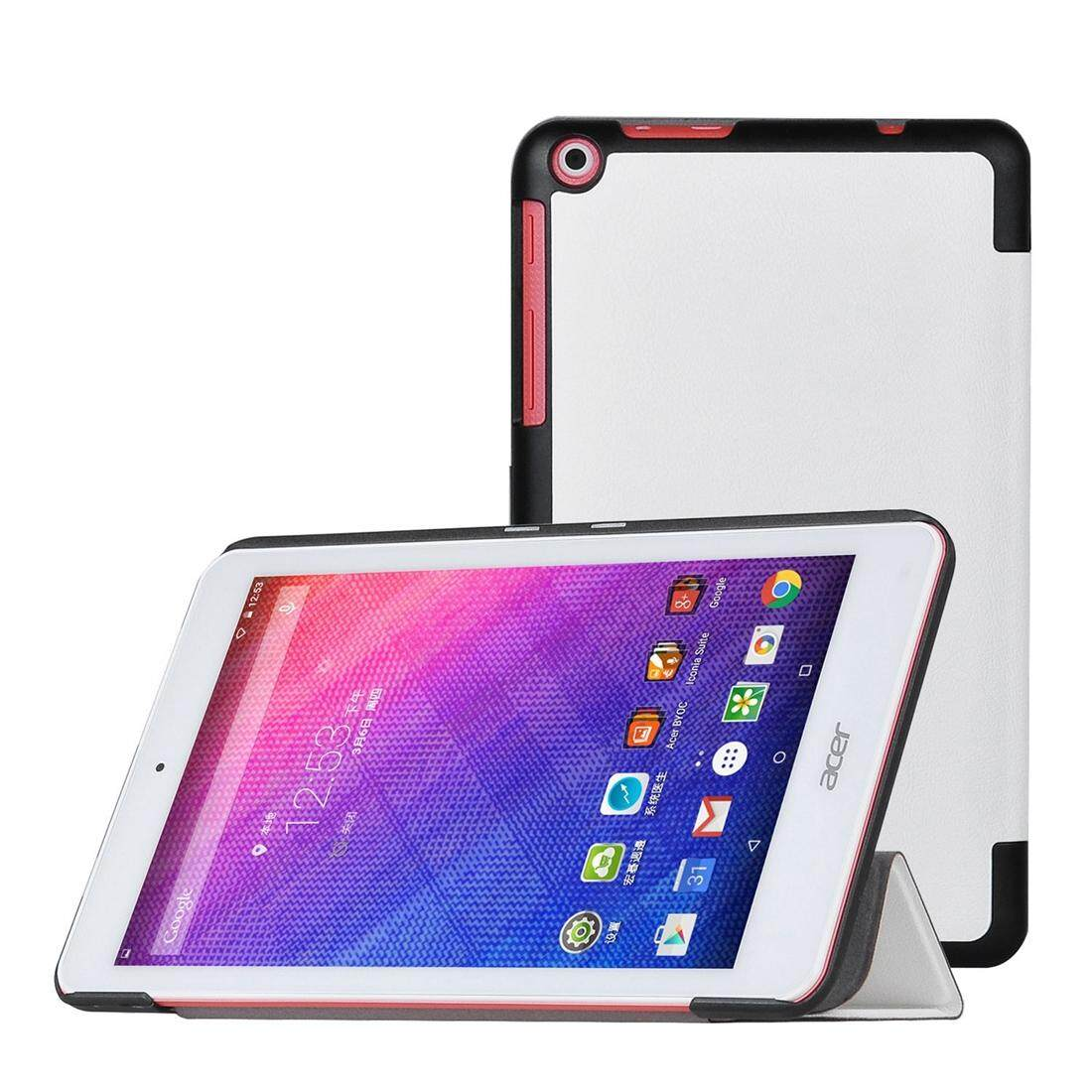 Cek Harga Leather Holder Cover Case For Acer Iconia One 7 B1 730 Tablet 723 Talk Slim Smart 8 820 Inch