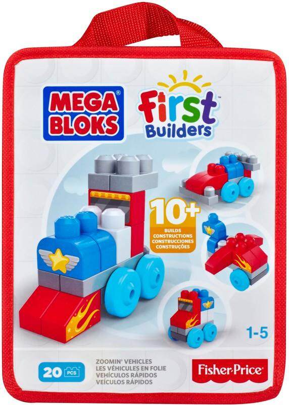 [FISHER-PRICE] Mega Bloks First Builders - Zoomin Vehicles toys for girls