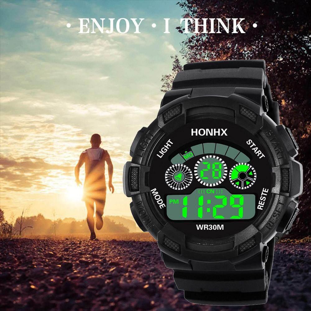 Bpfair Pria LED Digital Analog Kuarsa Alarm Jam Tangan Olahraga Terkini Baru Dijual - 2 .