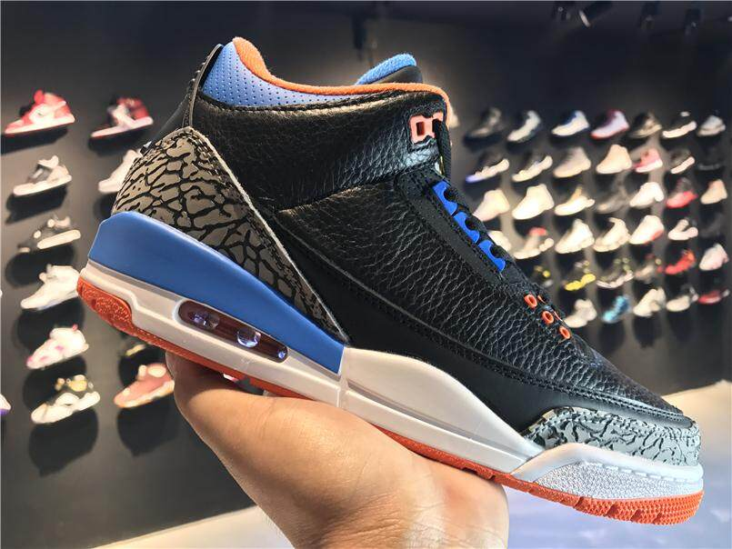 "2018 Nike Men's Air Jordan 3 Retro 88 III ""OKC Thunder"" PE 136064-"