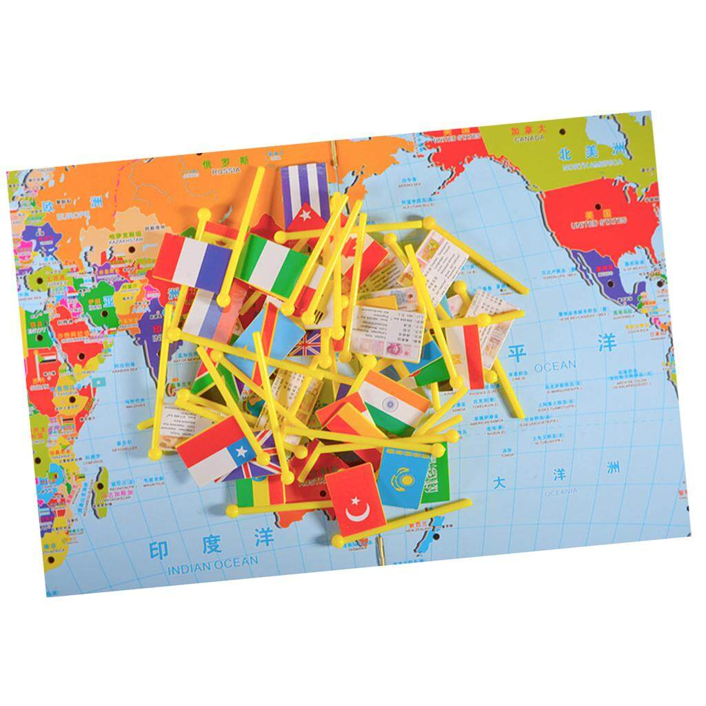 Life skills for kids for sale life toys online brands prices bolehdeals world map puzzle game for kids toddler world map and national flags match gumiabroncs Images