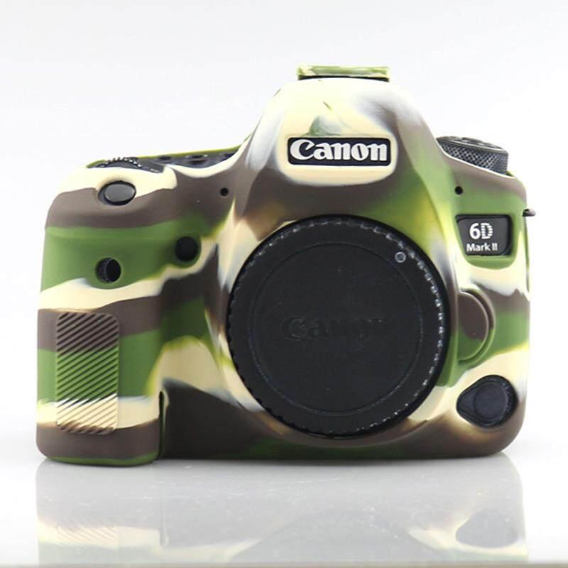 Soft Silicone Rubber Protective Camera Body Cover Case Skin for Canon EOS 6DII EOS 6D Markii