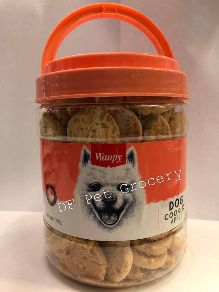 Wanpy Dog Cookies Chicken & Apple 500G - Dog Biscuit - Dog treat - Dog Snack