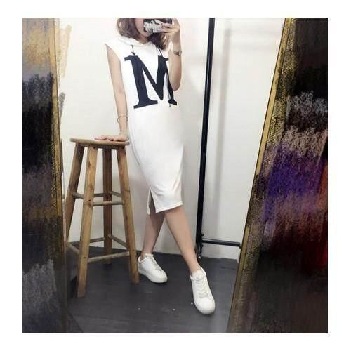 (Pre Order ETA End Feb CNY Break)(Pre Order ETA 14/2) JYS Fashion Korea Style Midi Dress Collection 11-1669 (White)