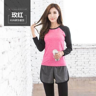 (Pre Order 14 days) JYS Fashion Korean Style Women Sport Wear Set Collection 540 - 8584 set 7