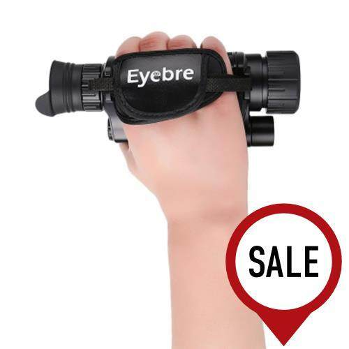 EYEBRE 5 X 40 INFRARED DIGITAL NIGHT VISION TELESCOPE HIGH MAGNIFICATION WITH VIDEO OUTPUT FUNCTION (BLACK)