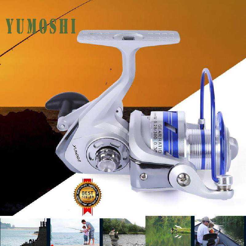 YUMOSHI Sport Outdoors 12BB Half Metal Fishing Spinning Reel with Exchangeable Handle - intl