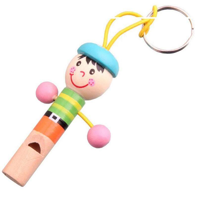 Lucu Whistle Bayi Educational Mainan Anak-anak Kayu Lucu Sedikit Pirate Whistle Mainan-Internasional