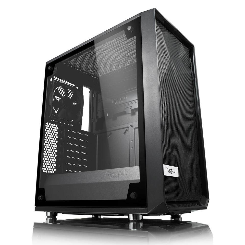 Fractal Design Meshify C – TG Desktop PC Chassis, Tempered Glass Malaysia
