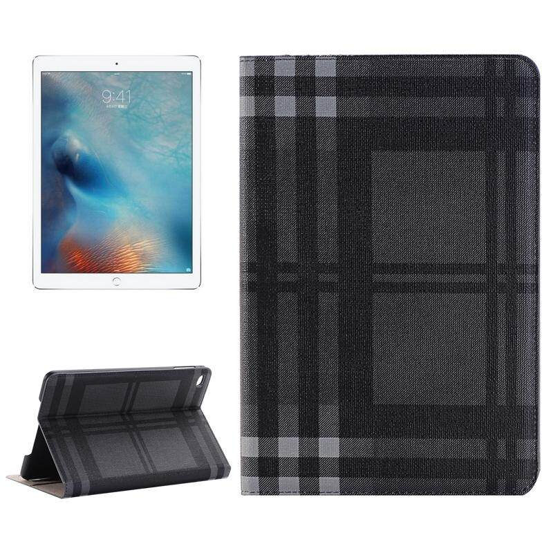 Price Comparisons Grid Texture Horizontal Flip Leather Case With Holder And Card Slots And Wallet For Ipad Pro 12 9 Inch Intl