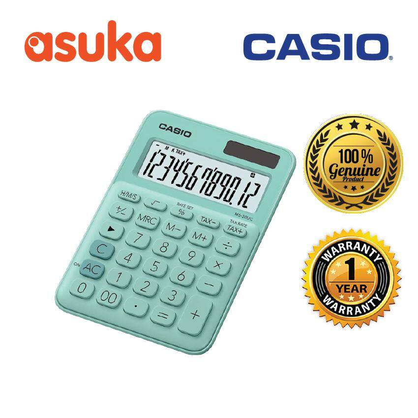 Casio Calculators for the Best Prices in Malaysia