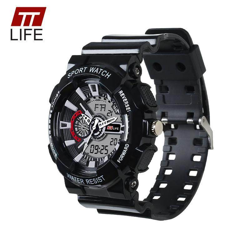 TTLIFE Mens Watches Military Alarm Digital Male Clock TS12 Waterproof Mens Sports Watches for Men Reloj Hombre New Arrival Malaysia