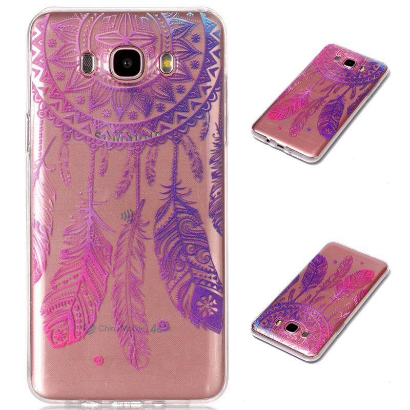 Case for Samsung Galaxy J7 2016 / J710 Transparent Soft TPU Protection Silicone Case Cover