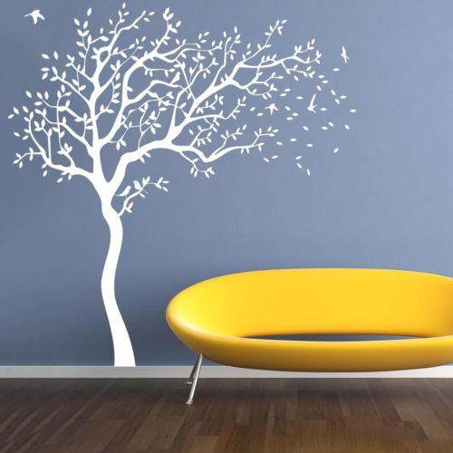 Big Tree Nursery Wall Sticker Decal Art Home Bedroom Removable Mural Decor 2Mx2M#towards the