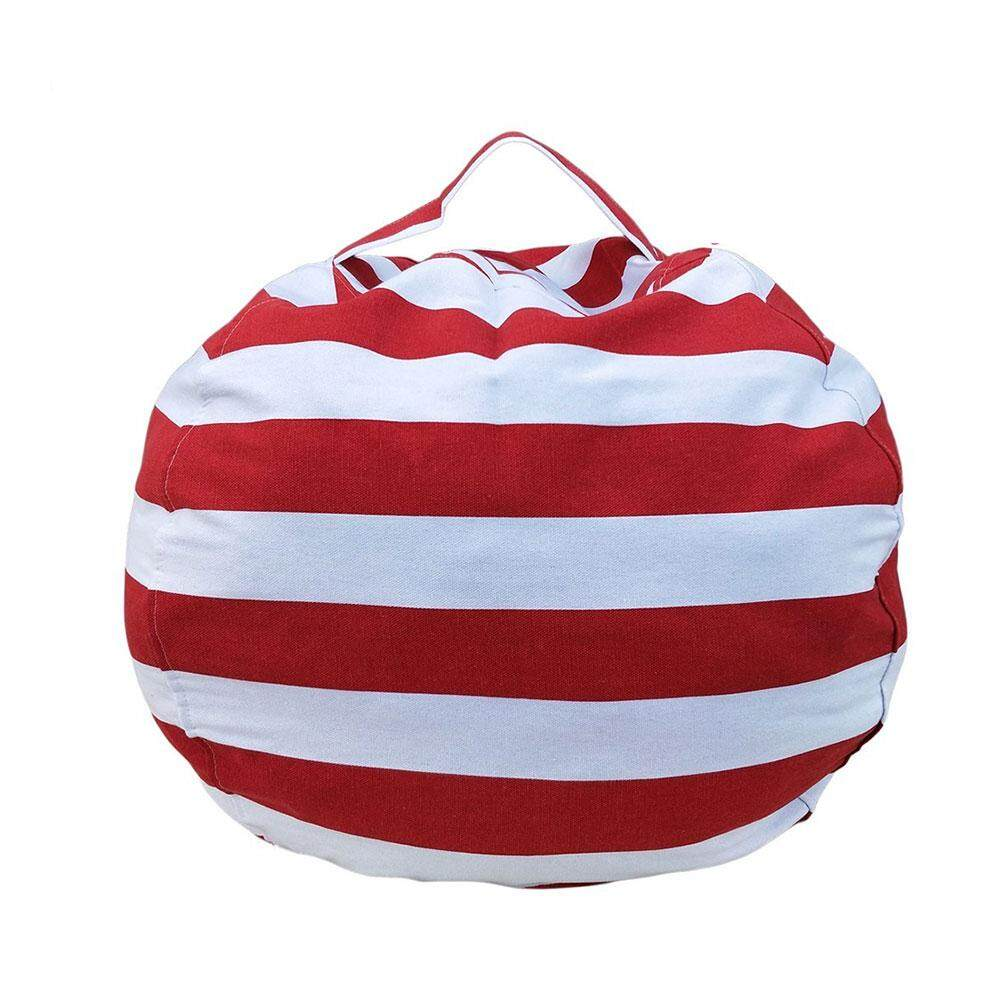 Womdee Multifunctional Childrens Plush Toy Storage Bag, Round Handbag(M ,66cm) - intl