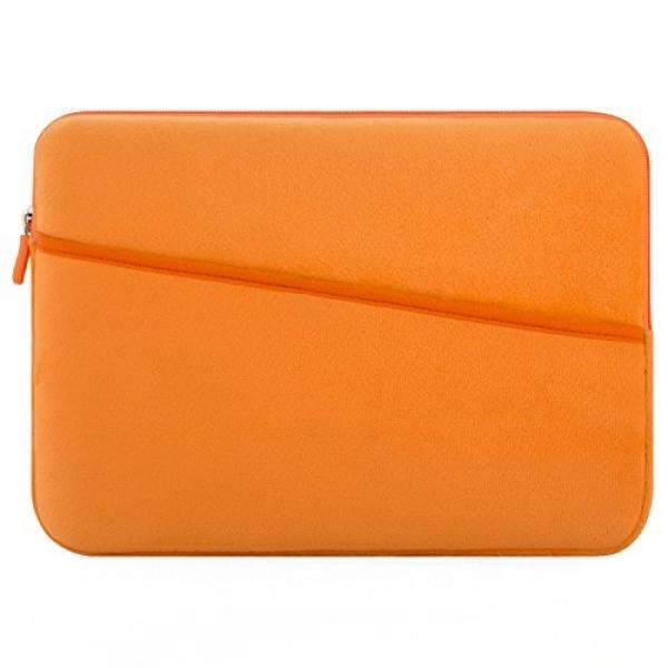 Sarung Laptop Kaopu 13-13.3 Inch Pelindung Laptop Tas Casing untuk MacBook Air dan Macbook Pro 2016/2017 retina MacBook Pro Akhir 2012, 12.9 Inch Ipad Pro 2017, HP, Dell, Asus, Acer (Orange) -Intl