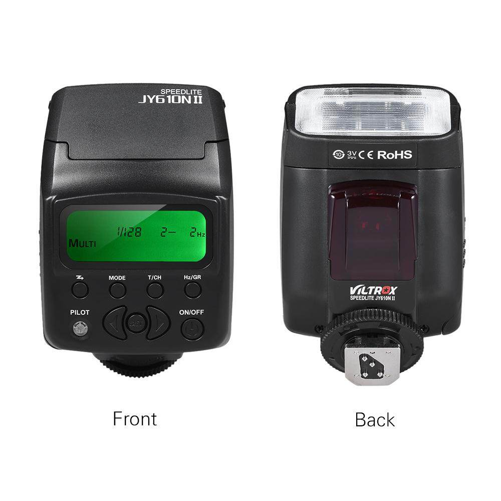 Viltrox JY-610N II i-TTL On-camera Mini Flash Speedlite for Nikon D3300 D5300 D7100 Camera - intl