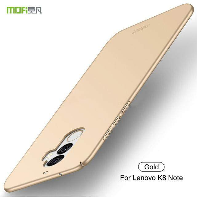 Lenovo K8 note case Ultra-thin hard matte back cover full protection housing for Lenovo K8note casing