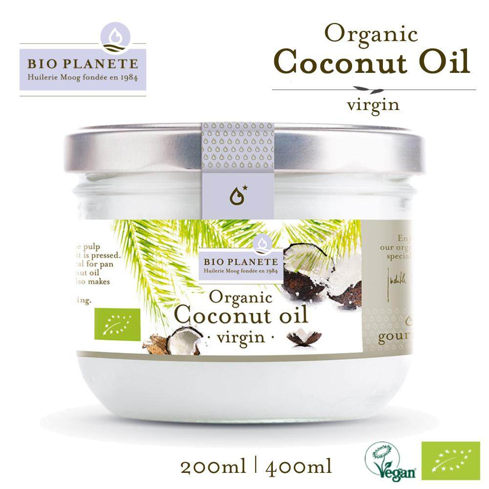 BIO PLANETE Organic Coconut Oil Virgin (400ml)