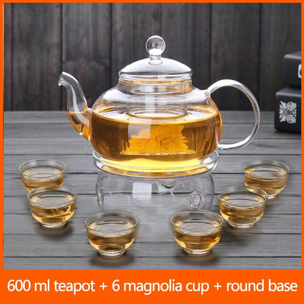 Chinese tea pot set High Borosilicate Glass Teapot Thick heat-resistant glass pot teapot tea filter Kung Fu tea set transparent home
