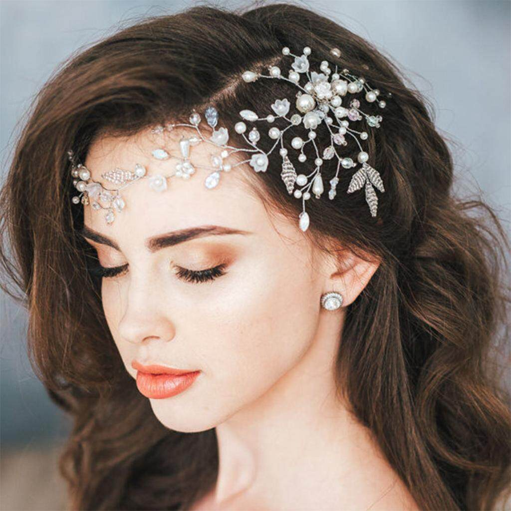 Hot Sale Bride Hair Band Crystal Headband Wedding Headpiece Flower Women Jewelry - Intl By Qianstore.