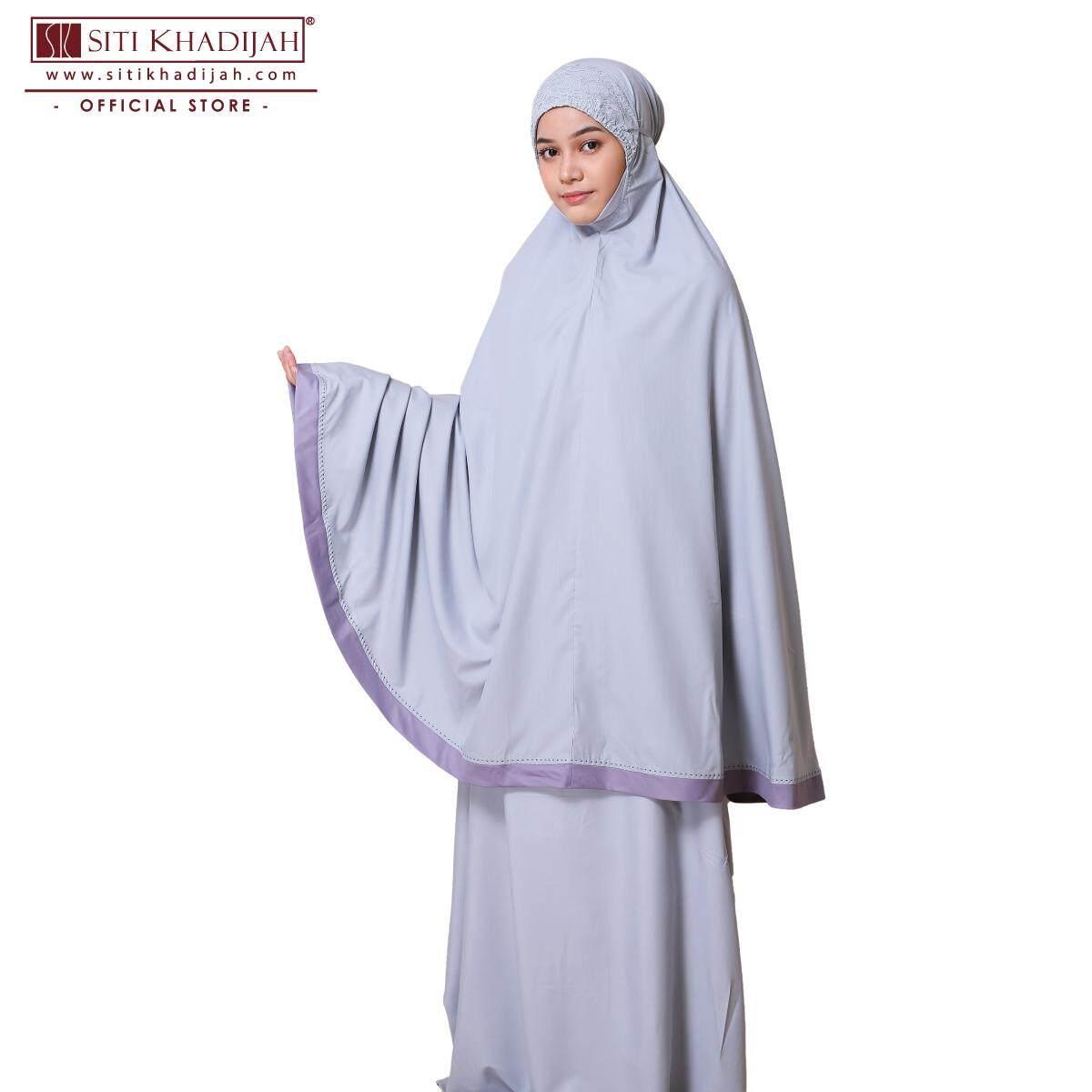 Telekung Siti Khadijah The Prayer Outfit (TPO) 4.0 (Grey)