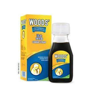 Woods Peppermint Cough Syrup Adult 50ml
