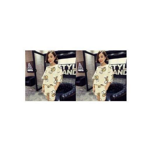 (Pre Order ETA 14/2) Korean Style Casual Wear Set Collection 157 - 2344B (White)